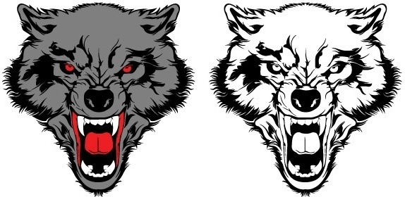 Wolf free vector download (132 Free vector) for commercial.