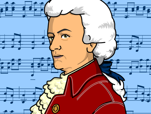 Wolfgang Amadeus Mozart Lesson Plans and Lesson Ideas.