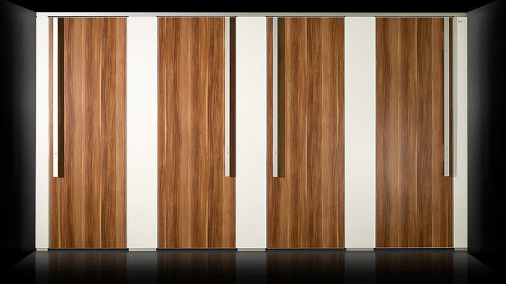 Fixed partition / wooden / sanitary.