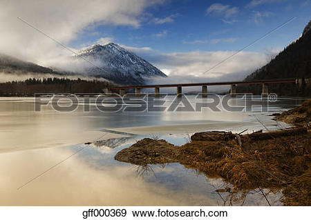 Stock Photograph of Germany, Bavaria, Lenggries, Bad Toelz.