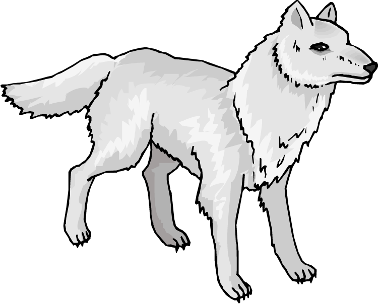 Wolves Clipart.