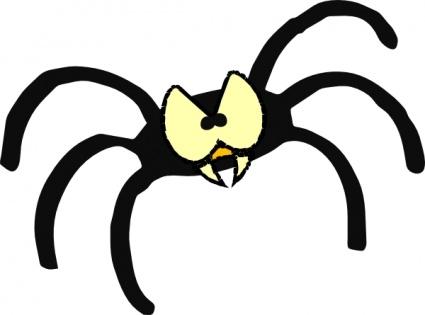 Böse Spinne.