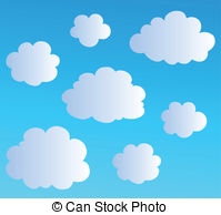 Clouds Illustrations and Clipart. 430,732 Clouds royalty free.