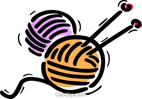 Yarn clipart transparent background.