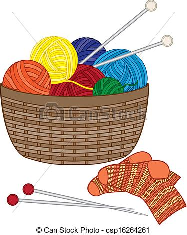 125 Knit Clipart.