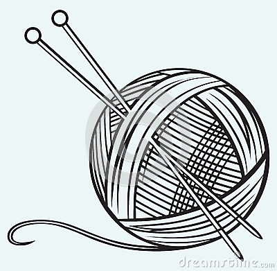 Wool clip art.