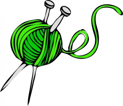 Knitting Clipart.