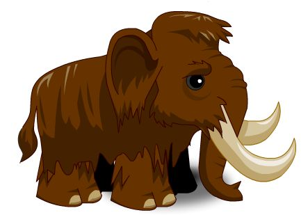 Wooly mammoth clipart » Clipart Station.