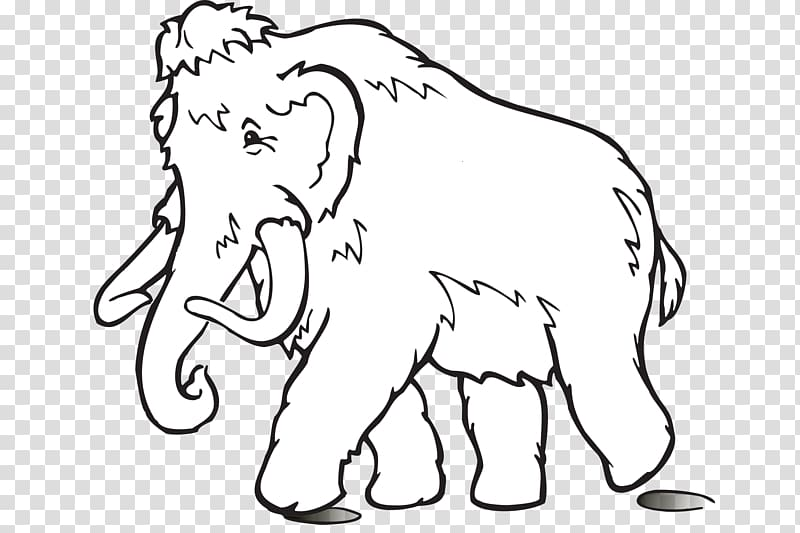 Woolly mammoth Drawing Elephant , elephant transparent.