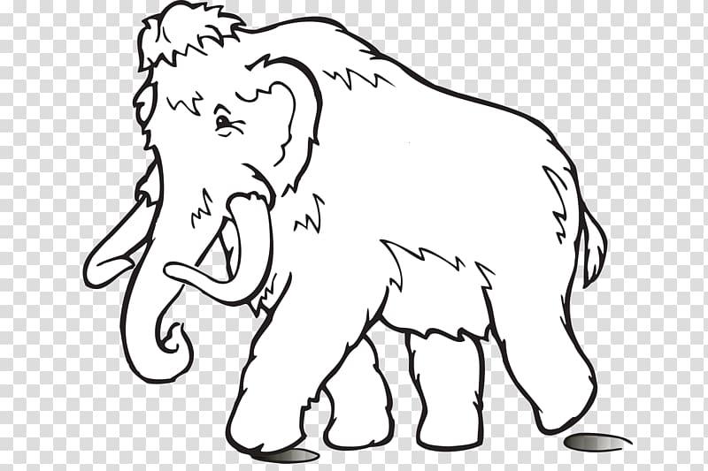 Woolly mammoth Drawing Elephant , elephant transparent.