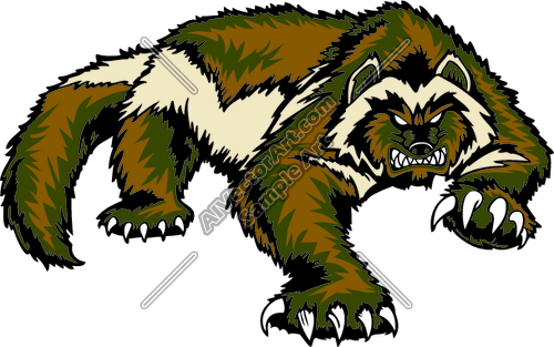 wolverine animal clipart clipground