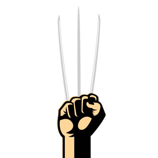 Wolverine Claws PNG Free Download.