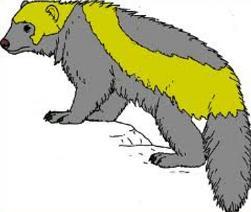 Wolverine Clipart.