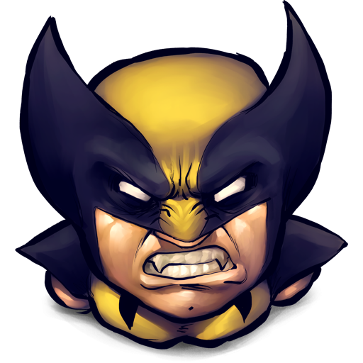 Wolverine hd clipart.