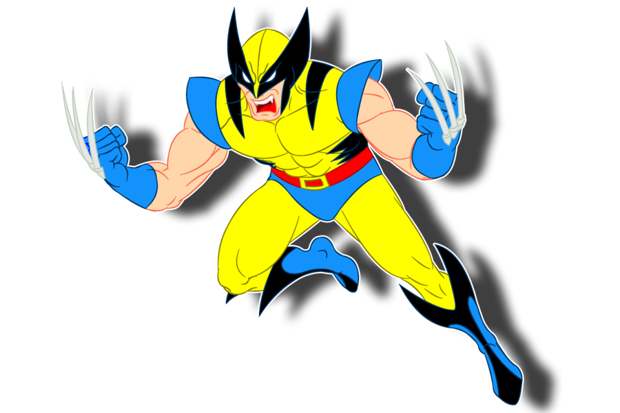 Free Wolverine Clipart Image.