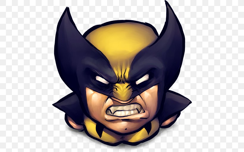 Wolverine Magneto ICO Comic Book Icon, PNG, 512x512px.
