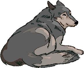 Wolves Clip Art.