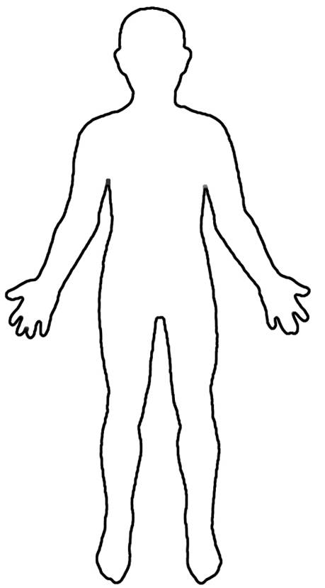 Free Female Body Outline, Download Free Clip Art, Free Clip.