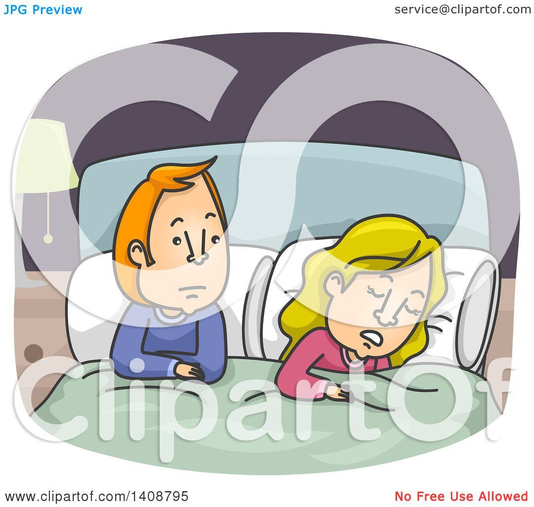 Showing post & media for Woman awake cartoon.