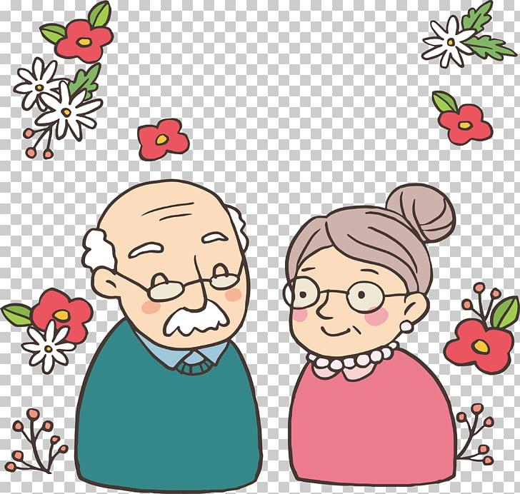 Wedding anniversary Euclidean , Romantic Floral Decoration.