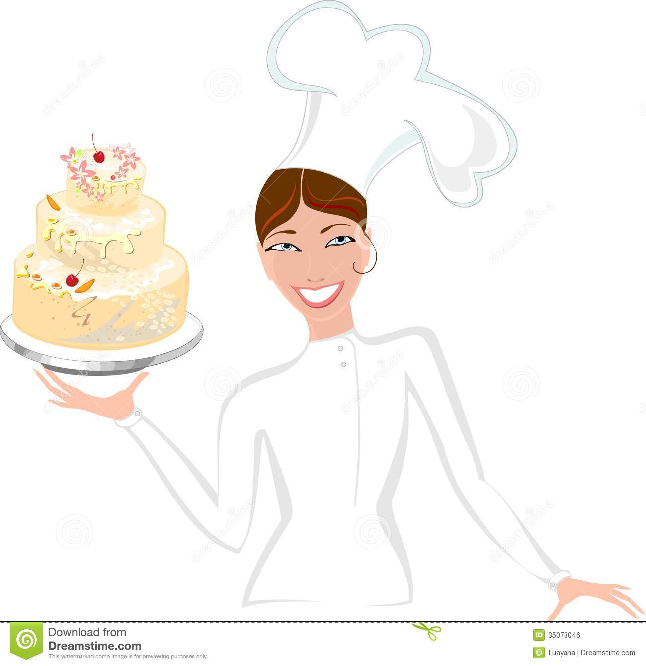 Similiar Baker Woman Cake Images Keywords.