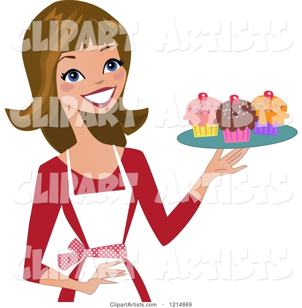 55569 Woman free clipart.
