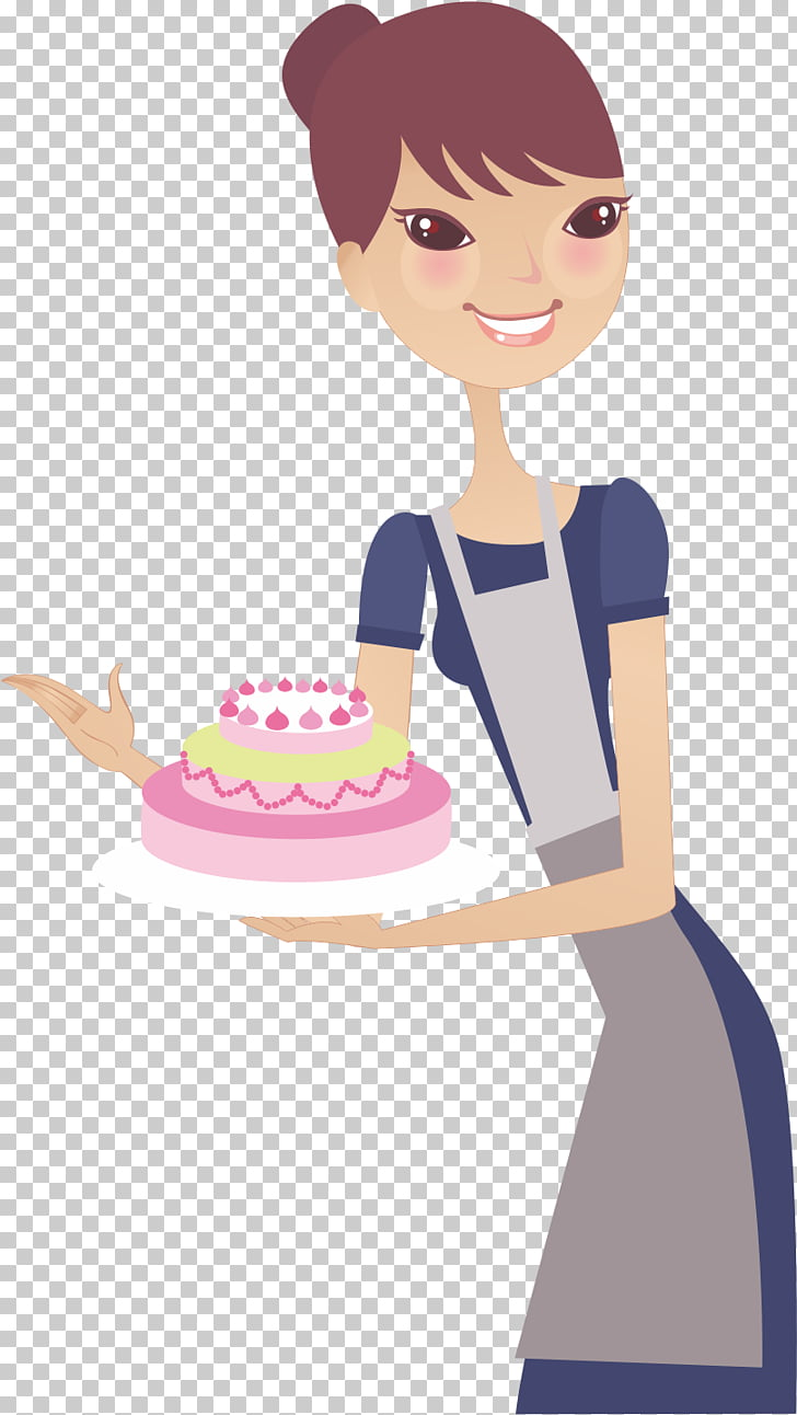Woman Housewife Mothers Day, End cake wife PNG clipart.
