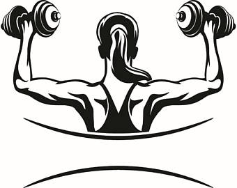 Bicep clipart weightlifting, Bicep weightlifting Transparent.