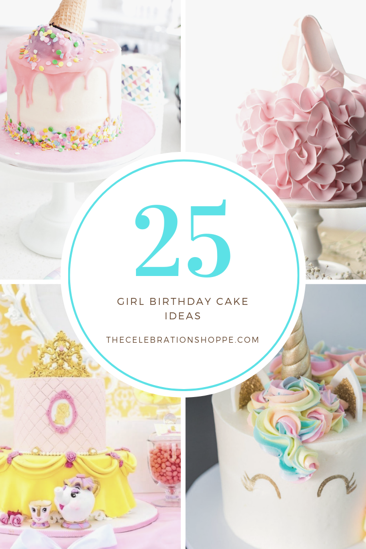 25 Beautiful Girl\'s Birthday Cake Ideas for all (Little.