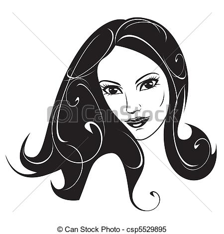 Woman clipart black and white 8 » Clipart Station.