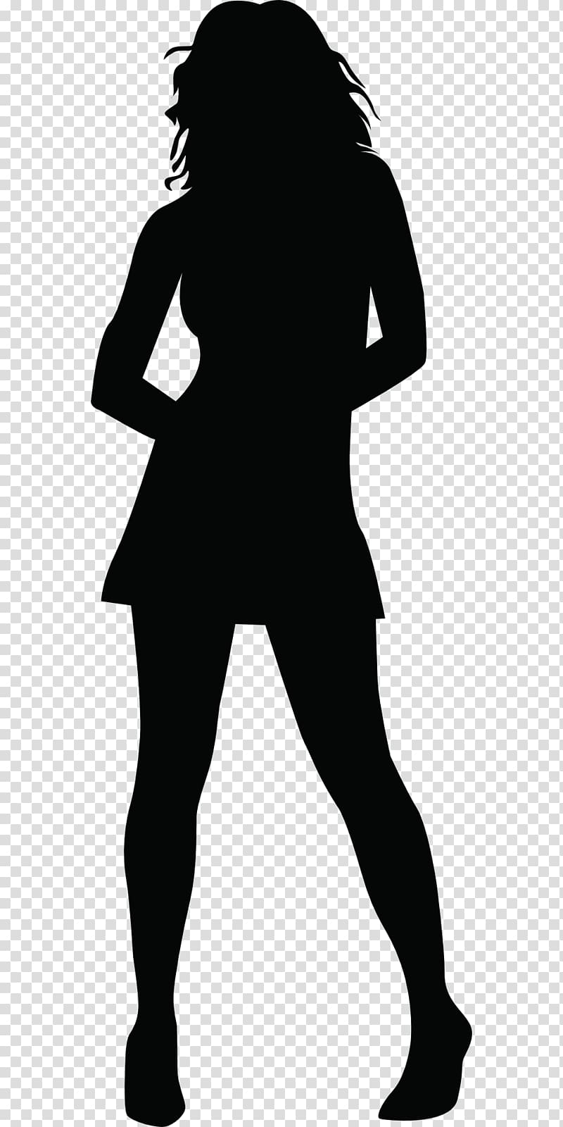 Silhouette Woman , woman silhouette transparent background.
