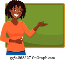 Teacher Blackboard Clip Art.