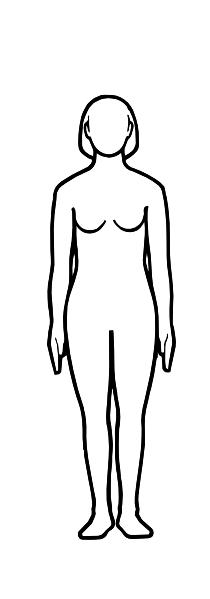 Women body clipart.