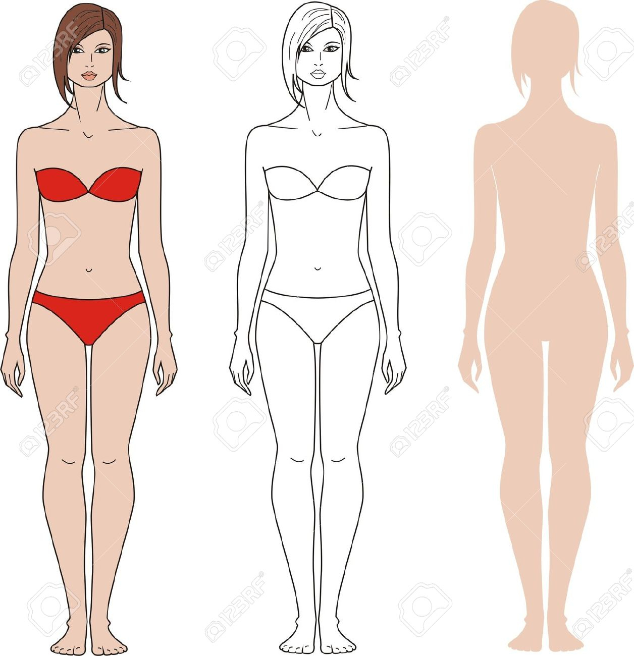 Body clipart woman, Body woman Transparent FREE for download.