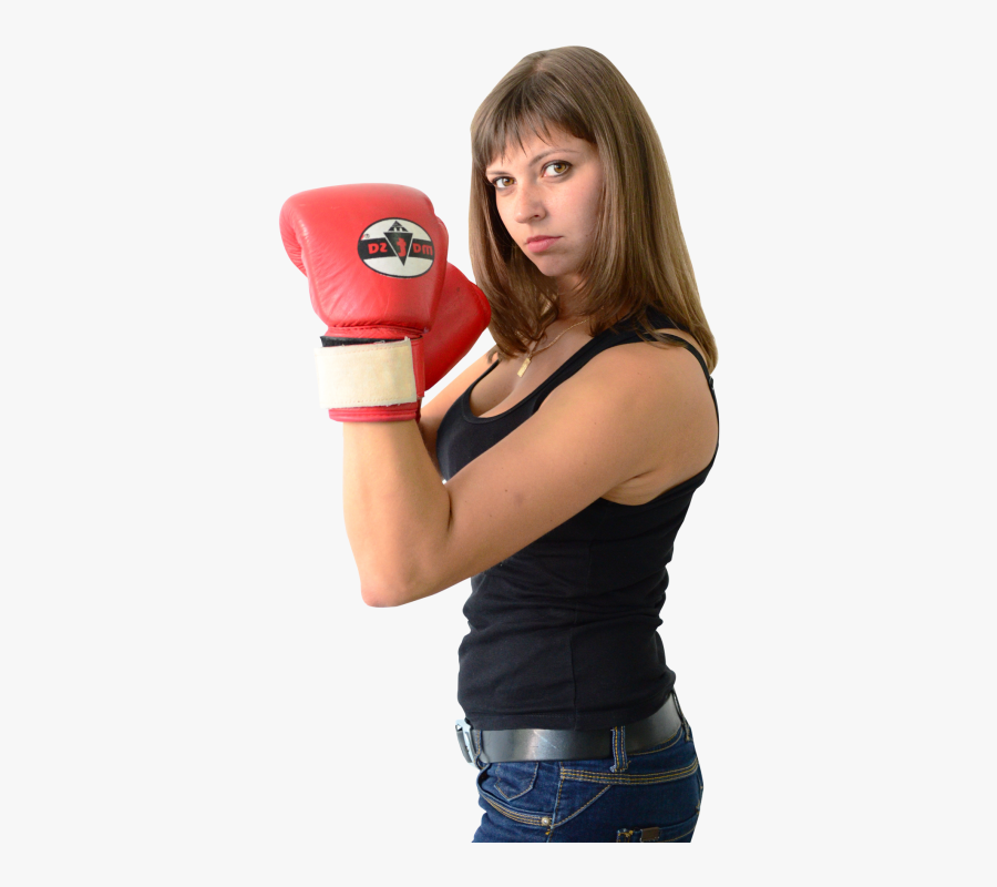 Boxing Gloves Clipart Woman.
