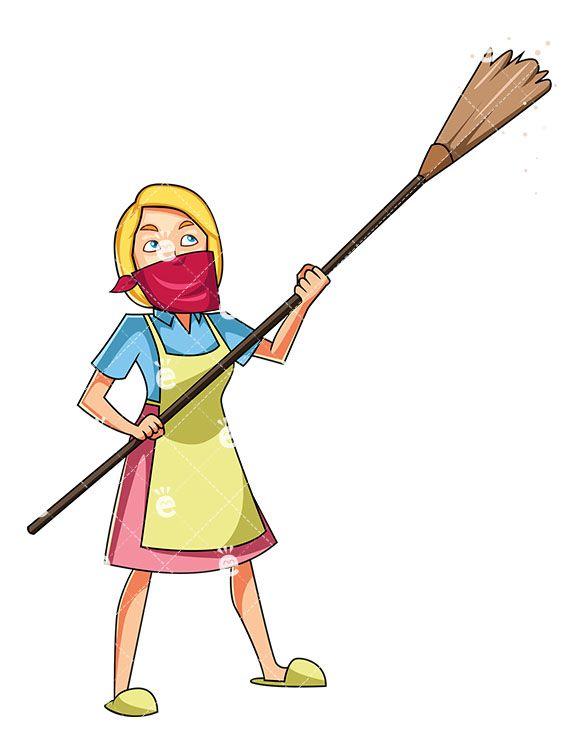 Broom clipart female, Broom female Transparent FREE for.