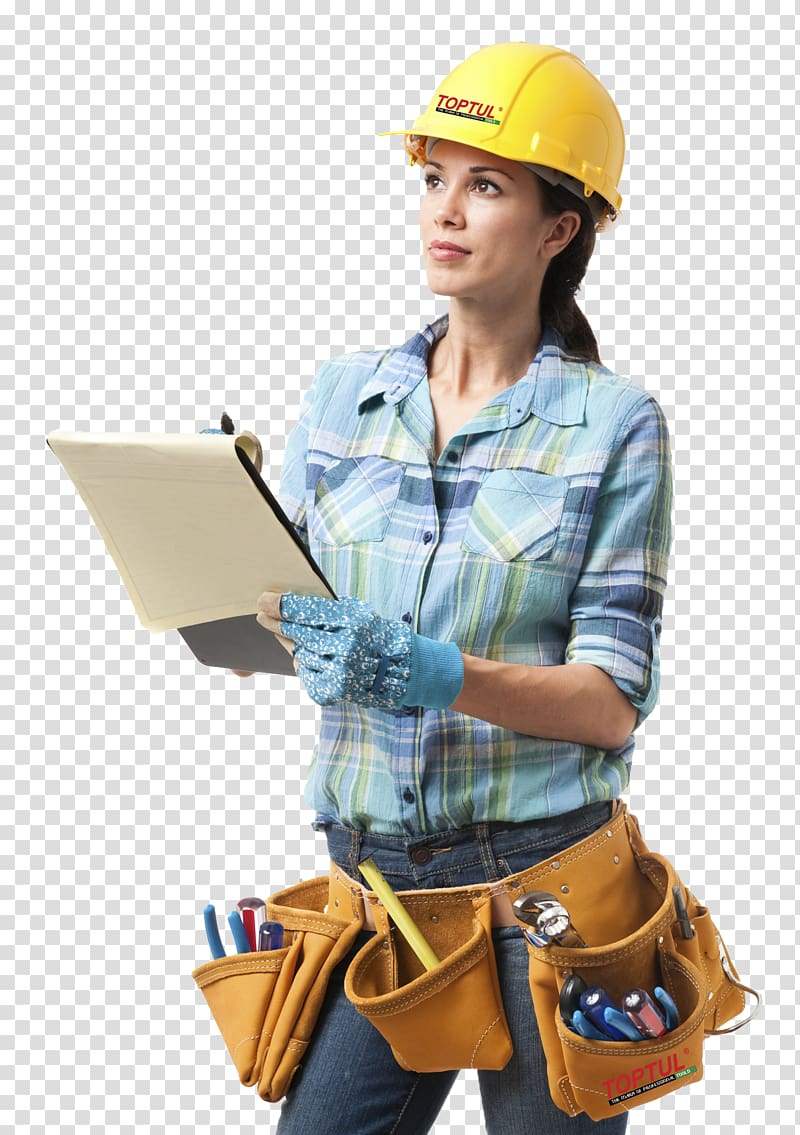 Female engineer at work, General contractor Architectural.
