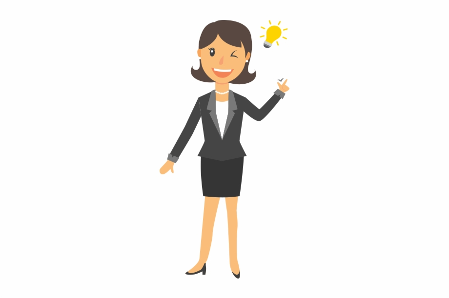 Business Women Png Image.