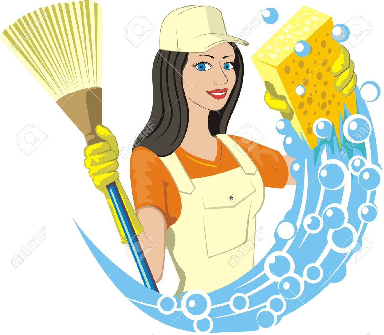 Showing post & media for Women cleaning cartoon.