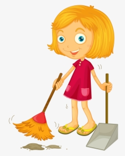 Free Cleaning Room Clip Art with No Background.