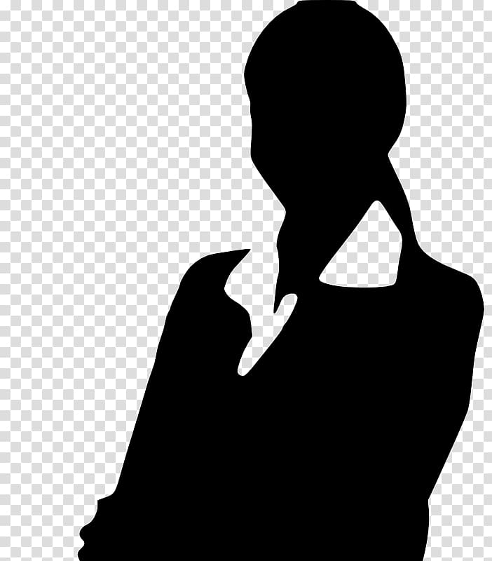 Silhouette Woman Professional , Business Professional.