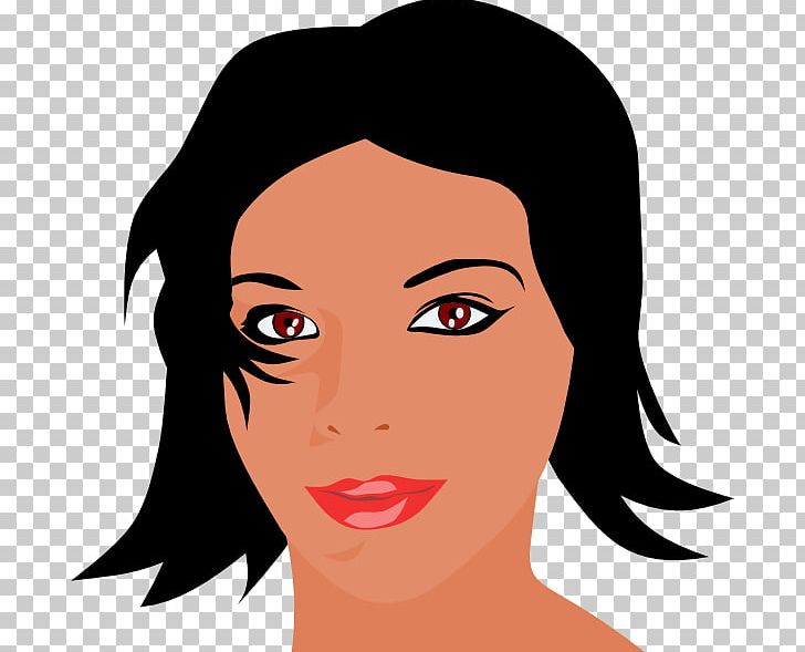 Women Woman Face Smiley PNG, Clipart, Beauty, Black Hair.