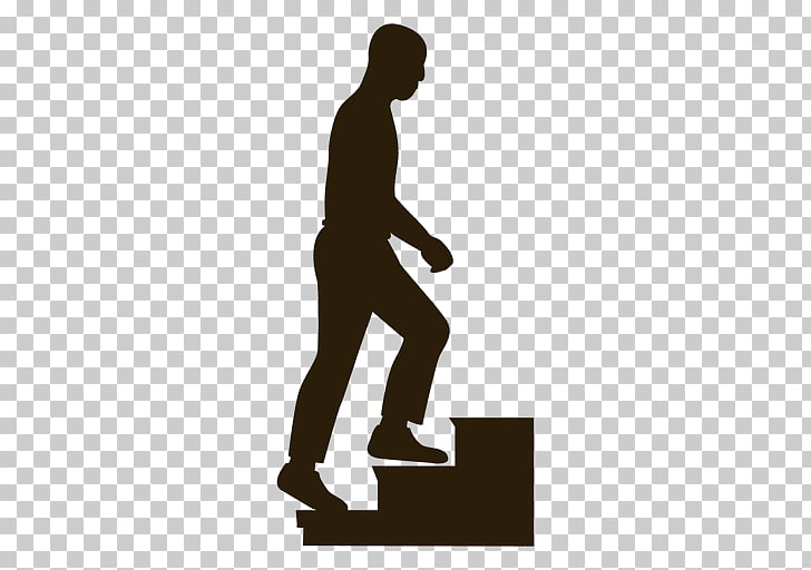 Stairs Silhouette , stairs PNG clipart.