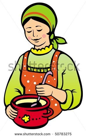 Woman Cooking Clipart Owknouq.
