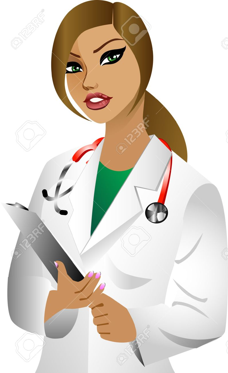 white woman doctor. See others in this series..