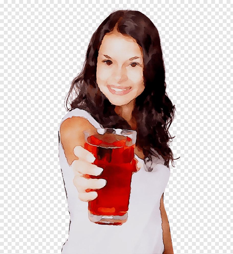 Juice, Drink, Cranberry, Cranberry Juice, Woman, Drinking.