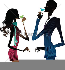 Free Clipart Woman Drinking Wine.