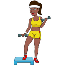 Free Women Exercise Cliparts, Download Free Clip Art, Free.