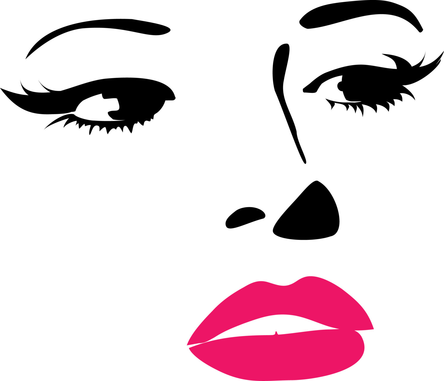 Free Lady Face Silhouette, Download Free Clip Art, Free Clip.