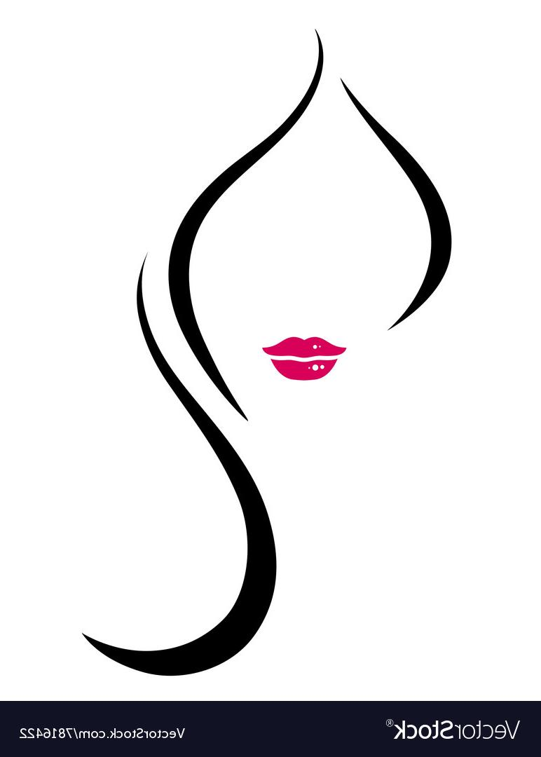 Best Woman Face Silhouette Image » Free Vector Art, Images.
